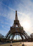 Wide angle Eiffel Royalty Free Stock Images