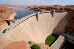 Glen canyon Dam - Horizontal Royalty Free Stock Photography
