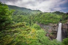 Wide angle of Kegon Falls, Nikko, Japan Stock Photography