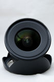 Wide Angle Lens. Front view of a wide angle lens Royalty Free Stock Photos