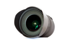 Wide-angle lens Royalty Free Stock Image