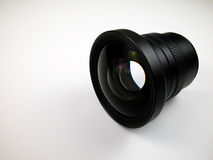 Wide Angle Lens-Three Quarter View Royalty Free Stock Images