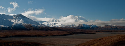Wide angle Mt Mckinley Royalty Free Stock Photography