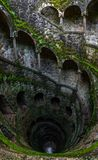 The Initiation Well vertical panoramic view Stock Images
