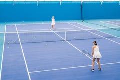 Tennis Match stock photos