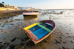 Wide angle shot of  Caleta  Beach Royalty Free Stock Photos