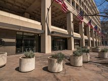 J. Edgar Hoover FBI Building on Pennsylvania Avenue, Washington DC, United States Stock Photos