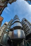 Wide angle shot with new Lloyd Building Royalty Free Stock Photo