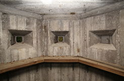 Free Wide Angle Shot Of A Small Room In Fulunaes Bunker In Sweden Stock Image - 61351171