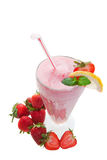Wide angle smoothie Royalty Free Stock Photos