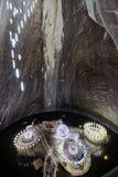 Salt mine underground Stock Photo