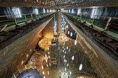 Salt mine underground Royalty Free Stock Photo