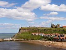 Coastal town of Whitby Royalty Free Stock Photo