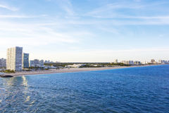 Fort Lauderdale Florida Shoreline Royalty Free Stock Image