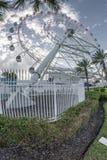 Four hundred feet tall ferris wheel Stock Photos