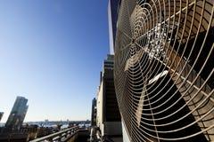 Urban HVAC Air Contidioner Outdoor Unit Manhattan New-York Royalty Free Stock Images