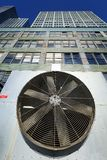 Urban HVAC Air Contidioner Outdoor Unit Manhattan New-York Bleac Stock Photography
