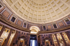 Wide angle view of Pantheon Royalty Free Stock Photography