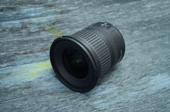 Wide angle zoom dslr lens Stock Photos