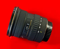 Wide angled camera lens Royalty Free Stock Photo