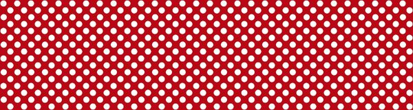 Red background with white dots. Wide background banner red with with white dots Stock Photography