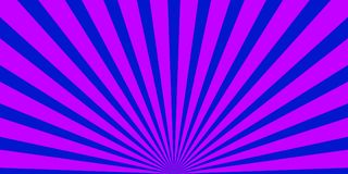 Rays background purple blue. Wide background withpurple and blue rays Stock Photos