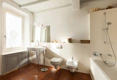Wide bathroom Stock Photography