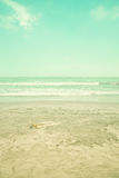 Wide beach Stock Images