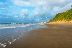 Wide Beach and Nature Royalty Free Stock Photography