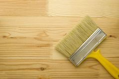 Wide brush Stock Photography