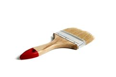 Wide brush Stock Photo