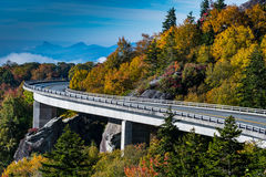 Wide Curve of Linn Cove Viaduct Royalty Free Stock Image