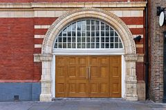 Wide door Stock Images