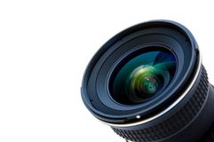 Wide DSLR lens Royalty Free Stock Photos