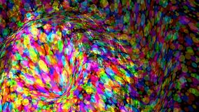 Wide format abstract colorful wallpaper, vector Stock Photography