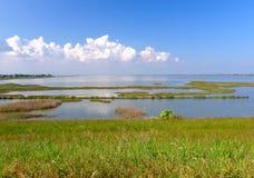 Wide lagoon Stock Photos