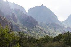 Wide landscape of Big Bend National Park Royalty Free Stock Images
