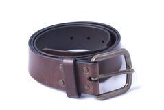 Wide leather belt Royalty Free Stock Photo