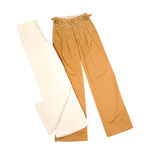 Wide leg pants Stock Photo