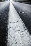 Vacant Diminishing Highway Stock Image