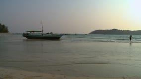 Fishing activities at Ngapali beach, Myanmar