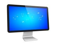 Wide monitor Stock Photo