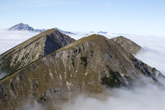 Wide mountains Stock Photography