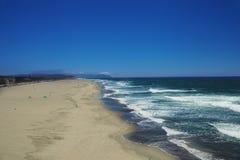 Wide ocean beach Stock Image