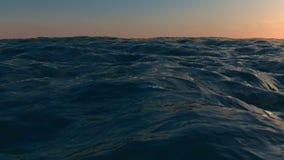 Wide ocean stock video