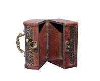 Wide open antique chest Royalty Free Stock Photo