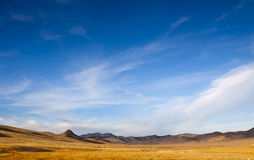 Wide Open Desert Royalty Free Stock Photos