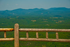 Wide Open Ozark Mountains overlook Arkansas Royalty Free Stock Images