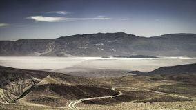Wide open vista on the Death Valley National Park. Wide open vista of the Death Valley National Park in summer California - horizontal Stock Photography