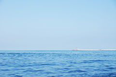 Wide outdoor seascape Royalty Free Stock Photos